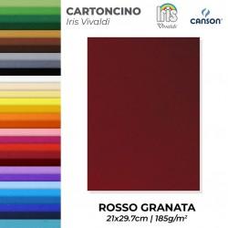 Canson Carta colorata ROSSO...