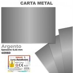 Carta Metallizzata ARGENTO...