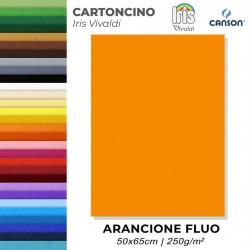 Cartoncino FLUO ARANCIONE...