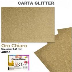 Carta Glitter ORO CHIARO...