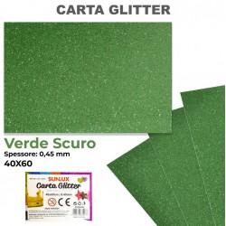 Carta Glitter VERDE SCURO...