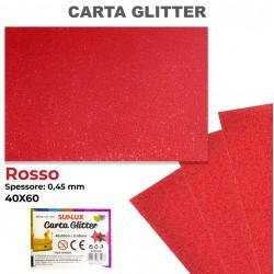 Carta Glitter ROSSO 40x60cm...