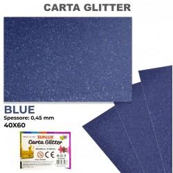 Carta Glitter BLU 40x60cm...