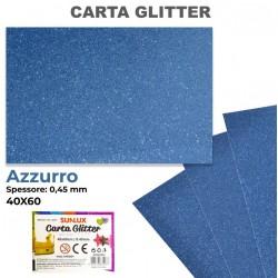Carta Glitter AZZURRO...
