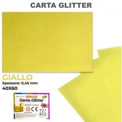 Carta Glitter GIALLO...