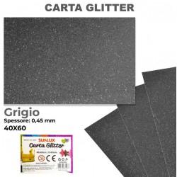 Carta Glitter GRIGIO...
