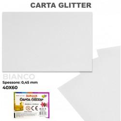 Carta Glitter BIANCO...