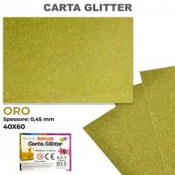 Carta Glitter ORO 40x60cm...