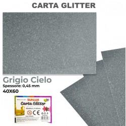 Carta Glitter GRIGIO CIELO...