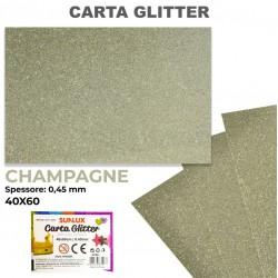 Carta Glitter CHAMPAGNE...