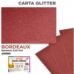 Carta Glitter BORDEAUX...