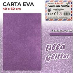 Carta EVA Glitter LILLA...