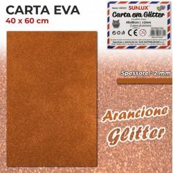 Carta EVA Glitter ARANCIONE...