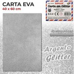 Carta EVA Glitter ARGENTO...