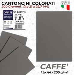Cartoncini CAFFÈ 200 gr in...