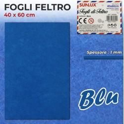 Foglio Feltro 60x40cm, Blu,...