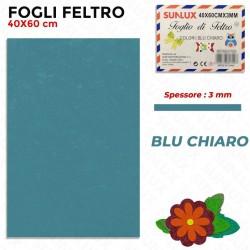 Foglio Feltro 60x40cm, Blu...