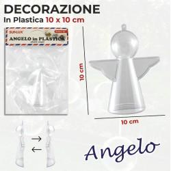 Angelo in plastica 10x10cm...