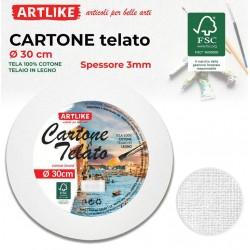 Cartone Telato Tondo 30cm...