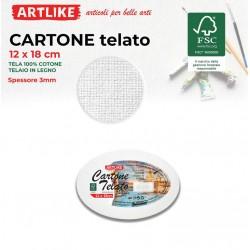 Cartone Telato Ovale...