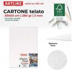 Cartone Telato 30x40x3mm...