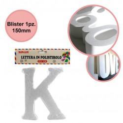 Lettera K in polistirolo...
