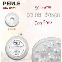 Perle con foro 14 mm - 50 gr