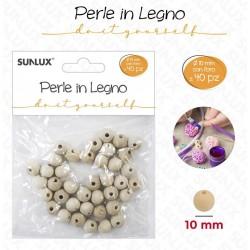 Perle in legno con foro 10...