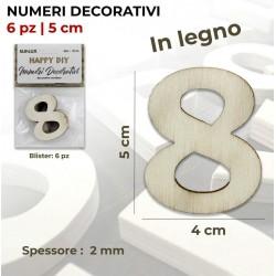 Numero 8 decorativo in...