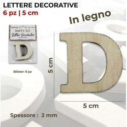 Lettera D decorativa in...