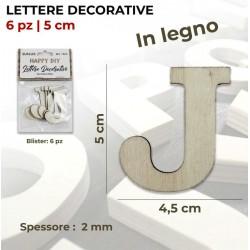 Lettera J decorativa in...