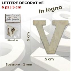 Lettera V decorativa in...