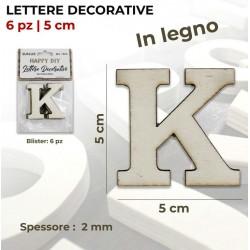 Lettera K decorativa in...