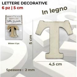 Lettera T decorativa in...