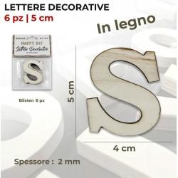 Lettera S decorativa in...