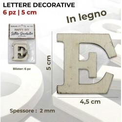 Lettera E decorativa in...