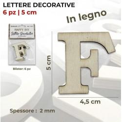 Lettera F decorativa in...