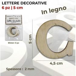 Lettera G decorativa in...