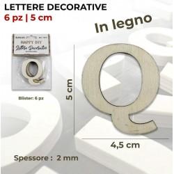 Lettera Q decorativa in...