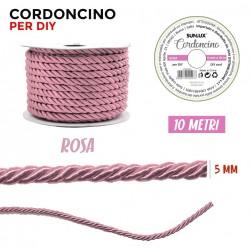 Cordoncino Rosa 5 mm X 10 m