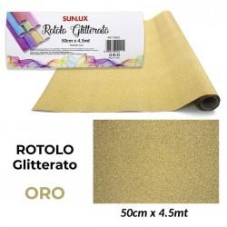 Telo ORO Glitterato 50cm x...