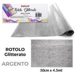 Telo ARGENTO Glitterato...