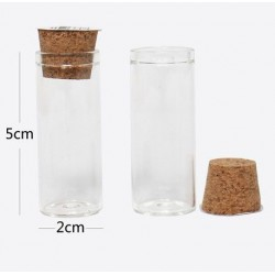 Bottigliette 5x2cm in vetro...