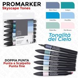 Promarker 6 Skyscape Tones,...