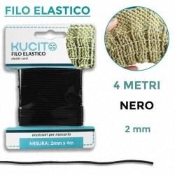 Filo elastico Nero per...