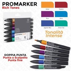 Promarker 6 Rich Tones,...
