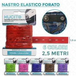 Nastro elastico - h 5 mm X...