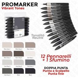 Promarker Vibrant Tones ,...