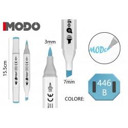 Marker Colore 446 B doppia punta 3mm 7mm - MODO