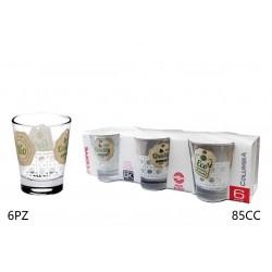 Green bio 6pz bicchierini 85cc